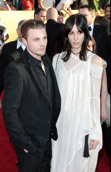 Michael Pitt pictured at the 18th Annual Screen Actors Guild Awards - arrivals held a Photo