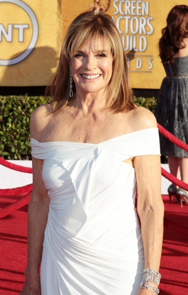 Linda Gray pictured at the 18th Annual Screen Actors Guild Awards - arrivals held at the Shrine Auditorium and Exposition Center in Los Angeles, CA on January 29, 2012 © RD / Orchon / Retna Digital