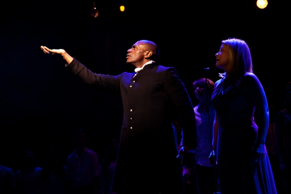 Anton Stephans and Louise Dearman