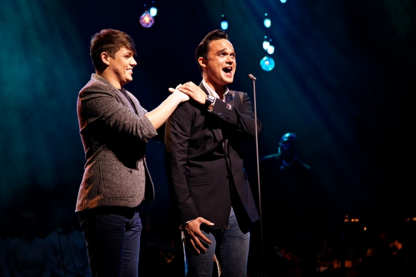 John Wilding (Abel) and Gareth Gates (Cain)