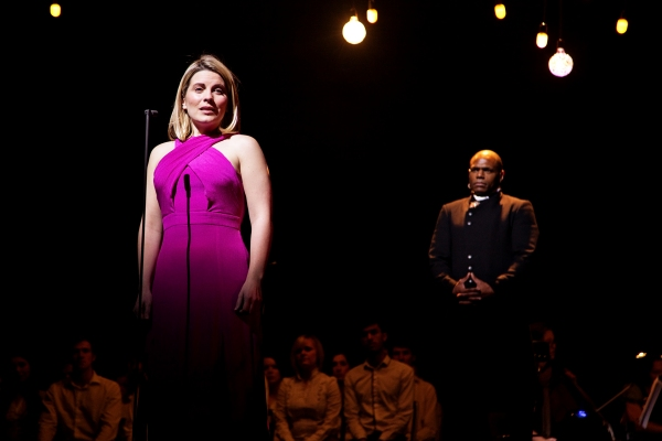 Louise Dearman and Anton Stephans