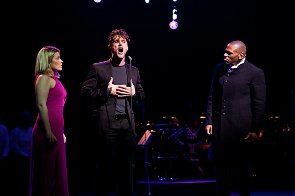 Louise Dearman, Oliver Thornton and Anton Stephans