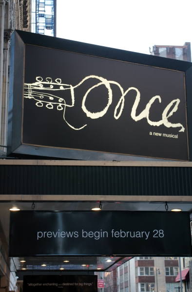 UP ON THE MARQUEE: ONCE Complete!