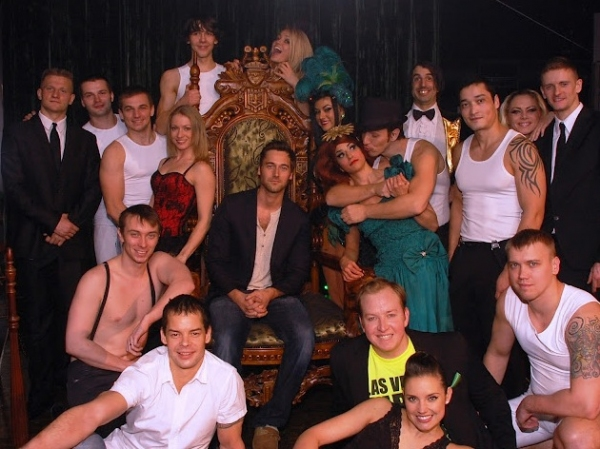 Ryan Eggold and the cast of ABSINTHE