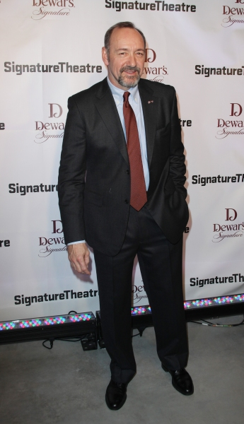 Kevin Spacey  at Signature Theatre Honors Edward Norton & Unveils New Signature Center!
