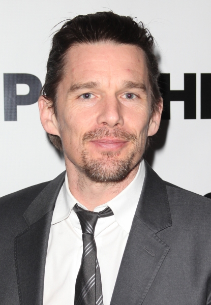 Ethan Hawke  at Janeane Garofalo, Morgan Spector & More Open New Group's RUSSIAN TRANSPORT