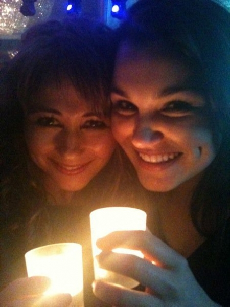 Photo Flash: Frances Ruffelle & Samantha Barks - Dual Eponines!