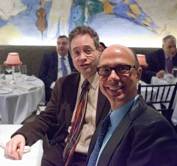 Mark Sendroff & Richie Ridge at Katie Couric, Matthew Broderick & More Cheer on Christine Ebersole at the Cafe Carlyle