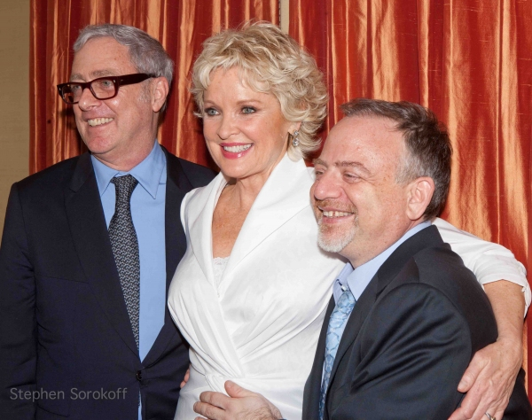 Scott Wittman, Christine Ebersole, Marc Shaiman at Katie Couric, Matthew Broderick & More Cheer on Christine Ebersole at the Cafe Carlyle