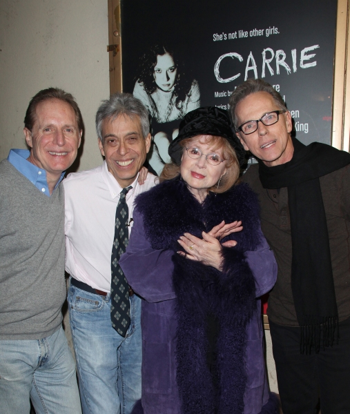 Michael Gore (Music & Lyrics), Lawrence D. Cohen (Book), Piper Laurie (Actress) & Dean Pitchford (Music & Lyrics)