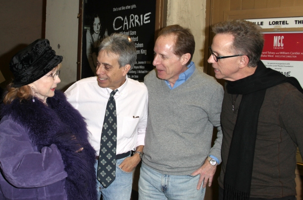 Michael Gore (Music & Lyrics), Lawrence D. Cohen (Book), Piper Laurie (from the movie)  & Dean Pitchford (Music & Lyrics)