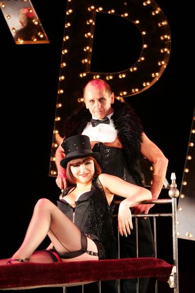 Samantha Barks and Wayne Sleep in CABARET at the Lyric Theatre, London, Britain - 29 Jul 2008 (Photo by Julian Makey / Rex USA)