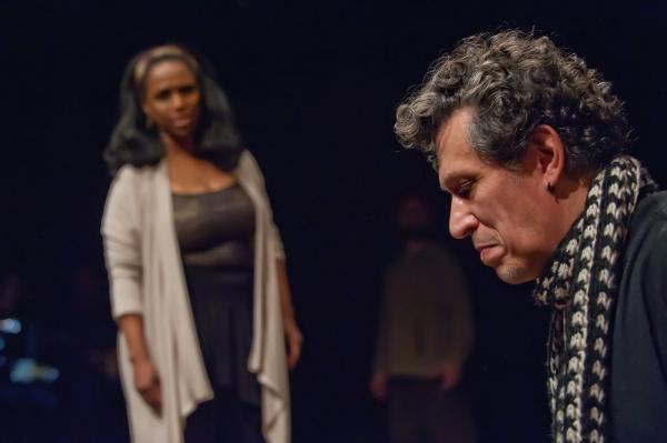 Yolanda Rabun as Aldonza and Randolph Curtis Rand as Don Quixote Photo