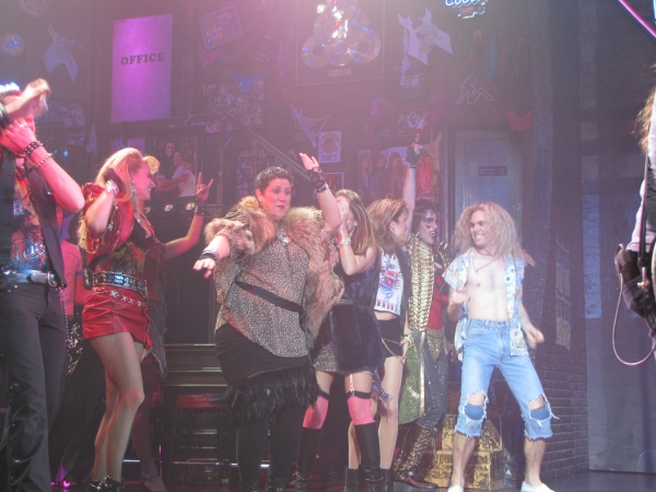 Photo Flash: ROCK OF AGES Featured on Live! With Kelly Tomorrow