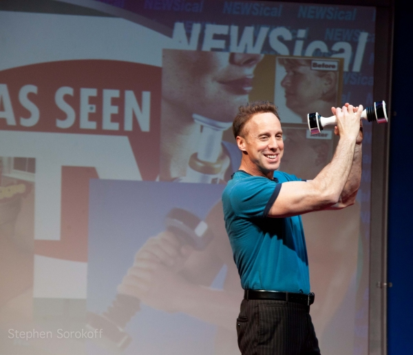 Michael West at NEWSical The Musical Re-Opens at Theatre Row