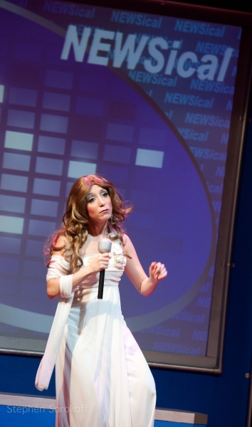 Photo Coverage: NEWSical The Musical Re-Opens at Theatre Row