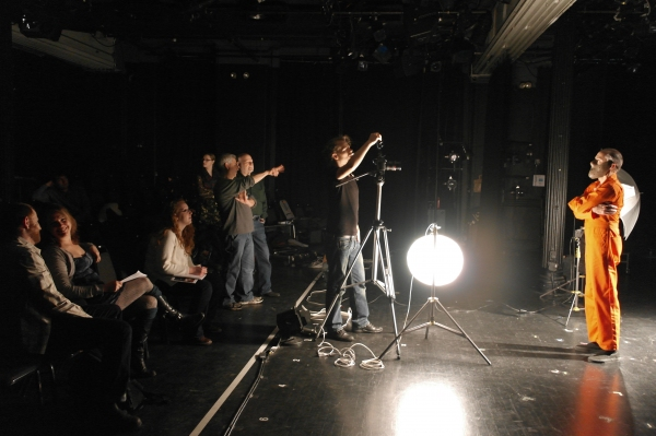 Photo Flash: Behind the Scenes at The Commercial for SILENCE! THE MUSICAL