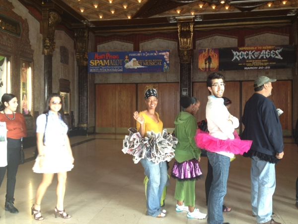 Photo Flash: BILLY ELLIOT and the Pantages Theatre Celebrate 'Tutu Day!'