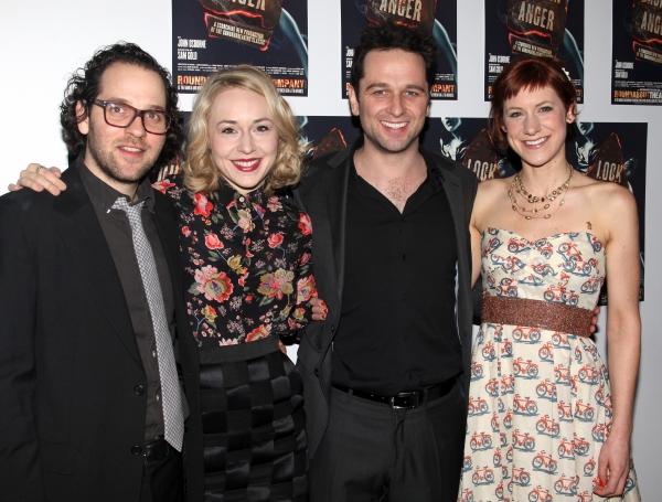 Sam Gold, Charlotte Parry, Matthew Rhys & Sarah Goldberg Photo