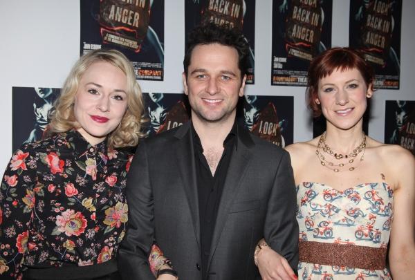 Charlotte Parry & Matthew Rhys & Sarah Goldberg Photo