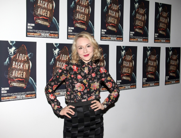 Charlotte Parry  at Arrivals at LOOK BACK IN ANGER Opening Night After Party