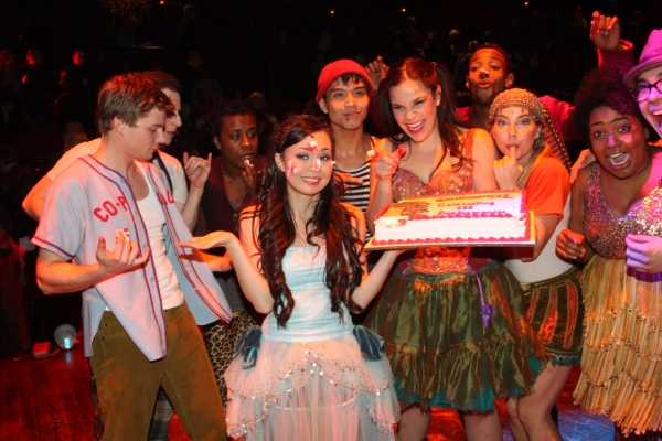 Photo Coverage: GODSPELL Celebrates 100 Performances!