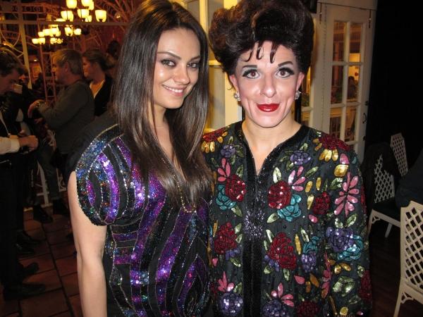 Mila Kunis and Peter Mac