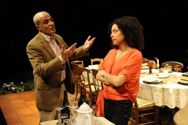 Nasser Faris and Mimi Lieber