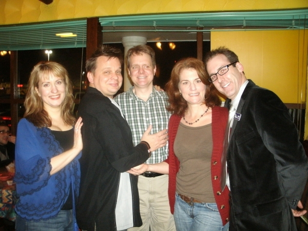 Erin Noel Grennan, Joe Foust, Raymond Fox, Molly Glynn and Kevin McKillip