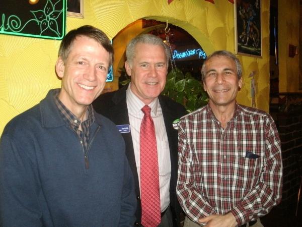 John Bauer, Brian McKillip, and Richard Berman