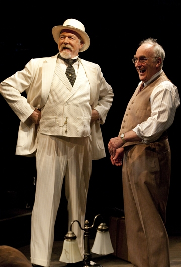 Adrian Sparks and Jeffrey DeMunn