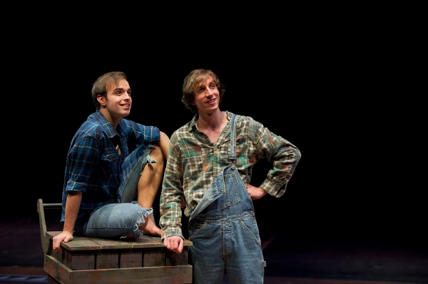 Anthony Malchar (Huckleberry Finn) & Fatye Francis (Jim)