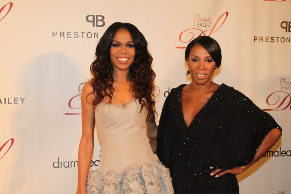 Michelle Williams and June Ambrose