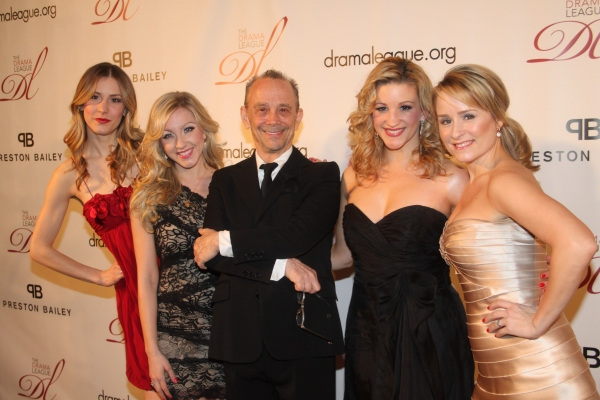 Brittany Marcin, Libby Servais, Joel Grey, Katie Adams and Heather Spore Kelly