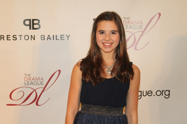 Carly Rose Sonenclar  at Drama League Honors Kristin Chenoweth - Red Carpet!