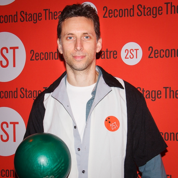 Ben Shenkman at Alec Baldwin, Bobby Cannavale & More Come out for Second Stage Bowling Benefit!