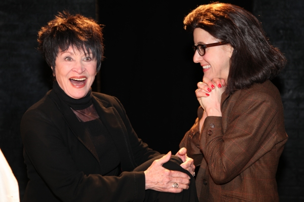 Photo Flash: Chita Rivera Visits SILENCE! THE MUSICAL