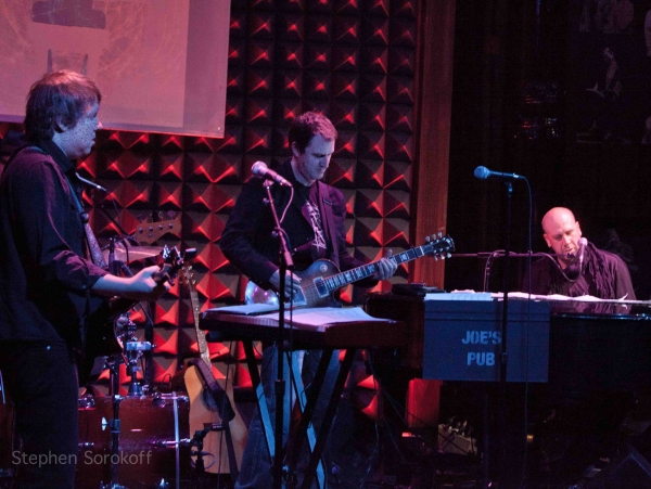 Matt Beck, Ben Butler, Jeremy Schonfeld at Morgan James, Adam Kantor Sing Jeremy Schonfeld at Joe's Pub