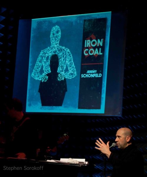 Jeremy Schonfeld at Morgan James, Adam Kantor Sing Jeremy Schonfeld at Joe's Pub