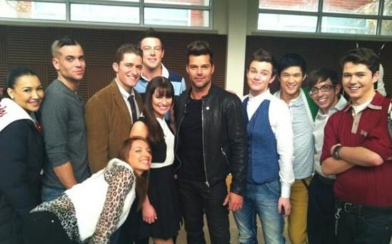 SOUND OFF: GLEE En Espanol (With Ricky Martin!)