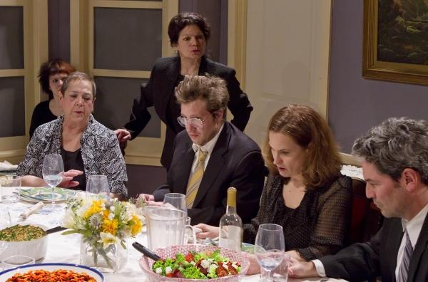 Jean (Abby Hart), Mattie Fae (Gayle Steigerwald), Violet (Martha Jacobs-standing), Little Charles (Matthew Roland), Barbara (Diane Kondrat) and Bill (Bill Simmons)