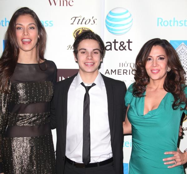 Dayana Mendoza, Jake T. Austin & Maria Canals-Barerra