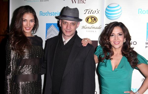 Dayana Mendoza (Miss Universe 2008), Lou Moreno & Maria Canals-Barerra