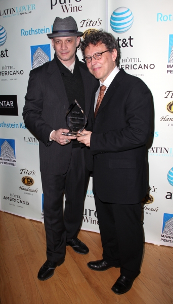 Lou Moreno & Jose Rivera at Jose Rivera, Lou Moreno, et al. at 1st Annual INTAR Gala