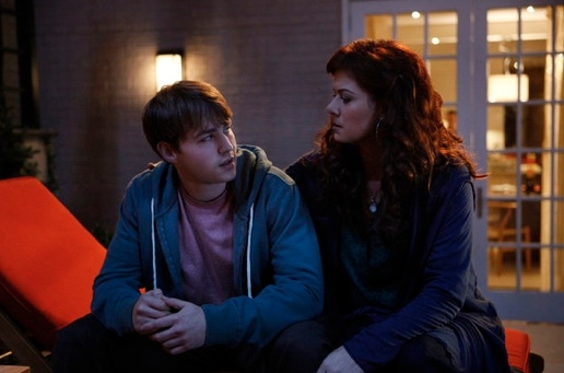 Emory Cohen & Debra Messing