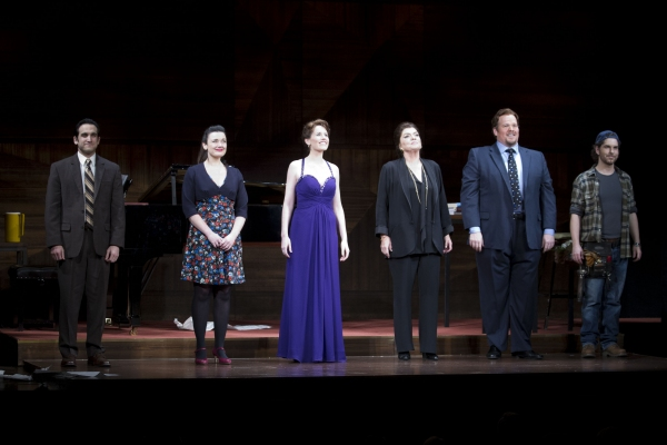 Jeremy Cohen (Emmanuel Weinstock), Dianne Pilkington (Sophie De Palma), Naomi O'Connell (Sharon Graham), Tyne Daly (Maria Callas), Garrett Sorenson (Anthony Candolino) and Gerard Carey (Stagehand)