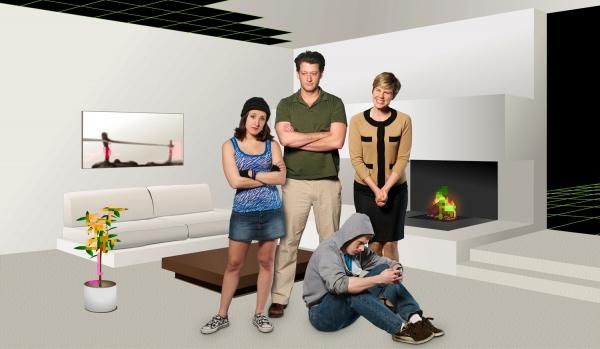 Photo Flash: Neighborhood 3: Requisition of Doom Opens At Aurora Theatre
