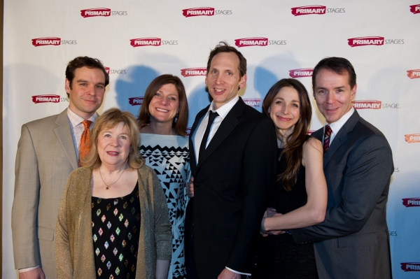 Michael Bakkensen, Marylouise Burke, Elizabeth Rich, Stephen Kunken, Marin Hinkle, and Paul Niebanck