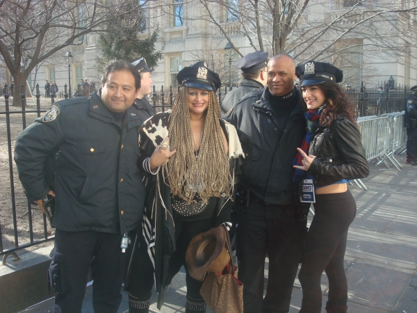 Photo Flash: Go Giants! ROCK OF AGES Plays the Super Bowl Parade!