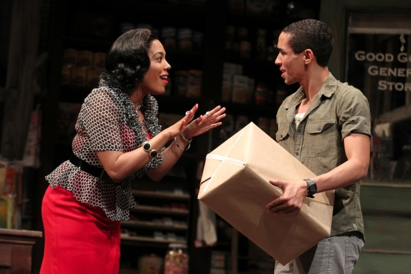 de'Adre Aziza and Kyle Beltran  at First Look at Yale Rep's GOOD GOODS with Kyle Beltran, de'Adre Aziza and More!